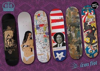 Iron fist skateboards