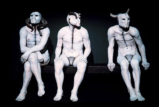 the butcher boys by jane alexander essay Jane alexander, bom boys (1998) installation view in the st ambrose chapel of the cathedral of st john the divine these butcher boys (1985-86) sat complacently on a bench, their ears, nose, and mouth fused into useless tissue, their eyes perverse beacons of surveillance, and their misshapen horns.