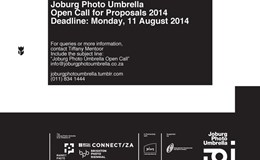 Joburg Photo Umbrella Open Call for Proposals 2014
