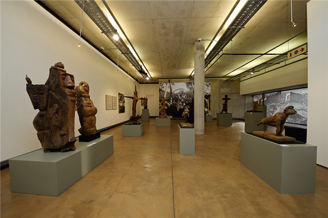 Installation view of A New Jerusalem