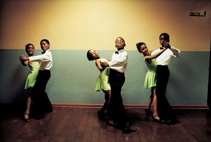 One two three and ... The Ennerdale Academy of Dance, Ennerdale, south of Johannesburg