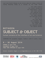 Between Subject and Object: human remains at the interface of art and science