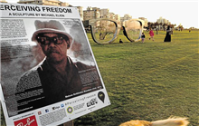 Perceiving Freedom information board